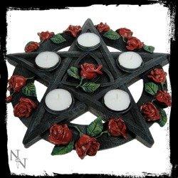 świecznik PENTAGRAM ROSE