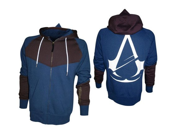 bluza ASSASSINS CREED - UNITY, rozpinana z kapturem