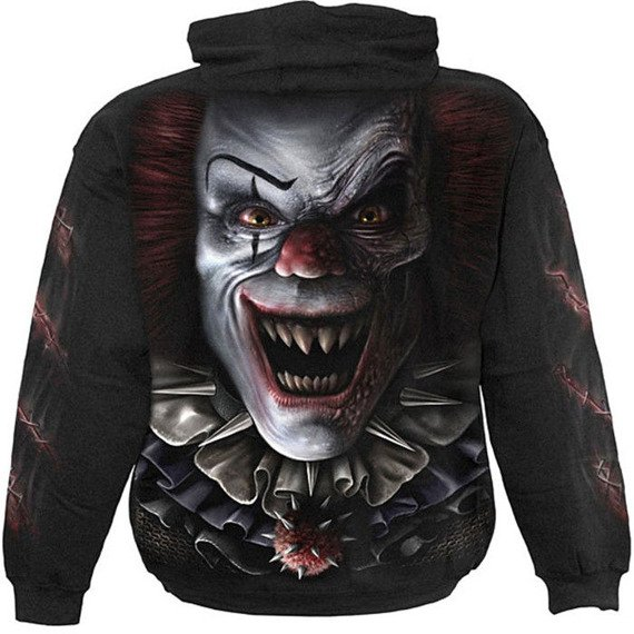 bluza CIRCUS OF HORRORS, kangurka z kapturem