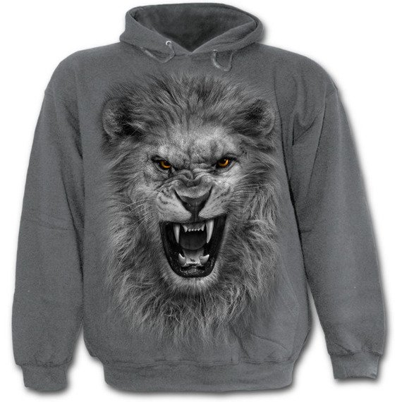 bluza z kapturem TRIBAL LION