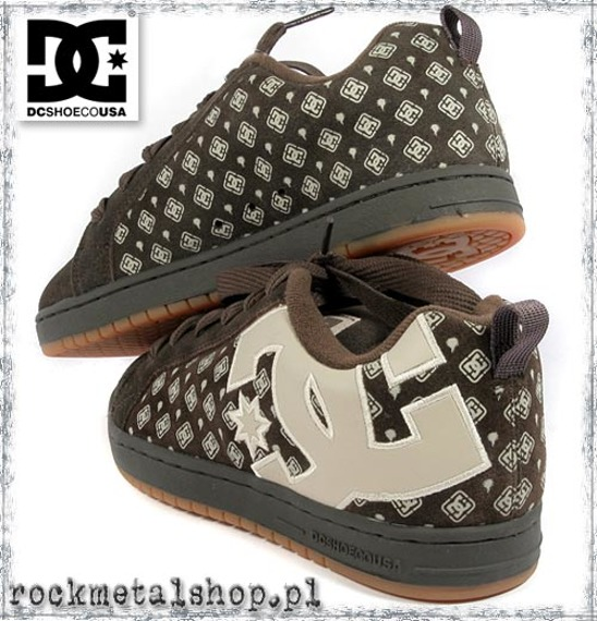 buty DC - COURT GRAFFIK oak/cobblestone [300927]
