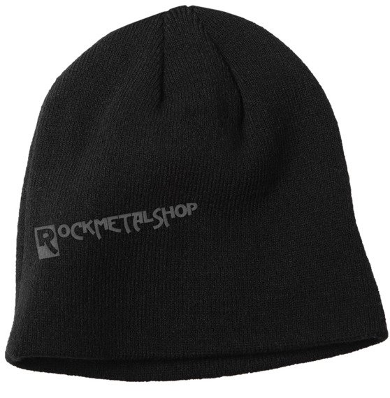 czapka zimowa THE BEATLES - DROP T LOGO czarna