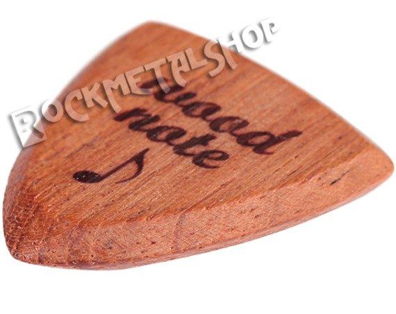 drewniana kostka do gitary WOODNOTE Bull Shield - JATOBE
