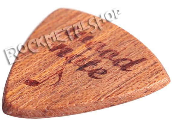 drewniana kostka do gitary WOODNOTE Jazz Shield - JATOBE