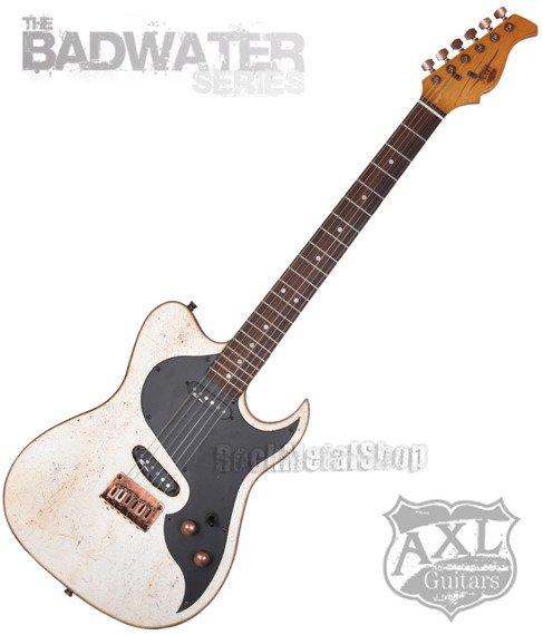 gitara elektryczna AXL / EL DORADO TELE / SILVER SPATTER