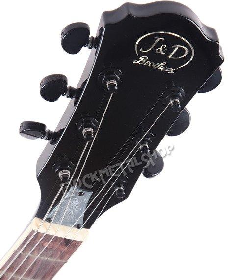 gitara elektryczna J&D BROTHERS LP STYLE black LP300 BK