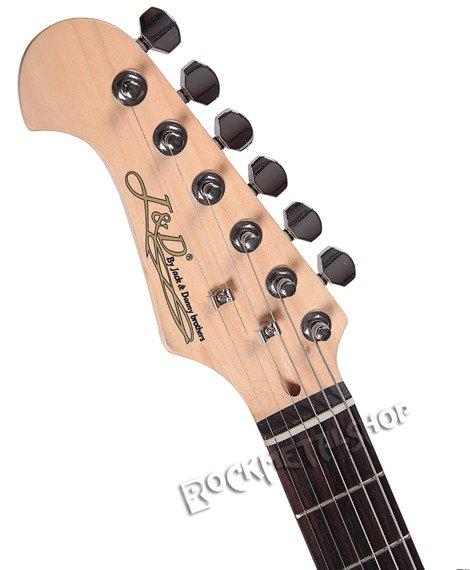 gitara elektryczna dla leworęcznych J&D BROTHERS Sunburst Strat ST3L SB