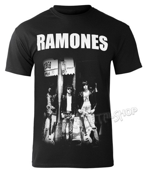 koszulka RAMONES - CBGB GROUP PHOTO