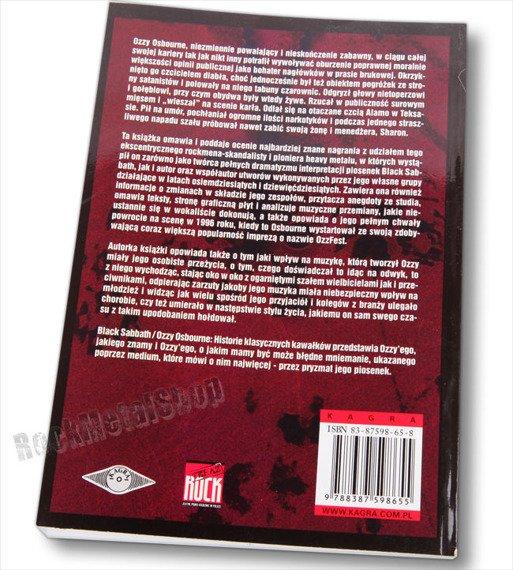 książka BLACK SABBATH / OZZY OSBOURNE: HISTORIE KLASYCZNYCH KAWAŁKÓW autor: Carol Clerk [kag]