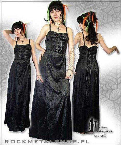 suknia JANET BLACK [GT307] Laughing Vampire