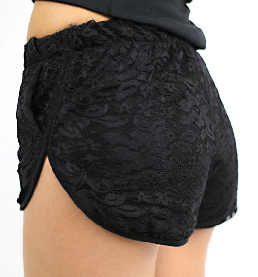 szorty damskie GET'N LUCKY LACE SHORTS