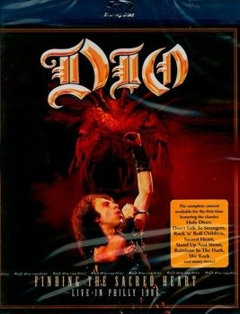 DIO: FINDING THE SACRED HEART - LIVE IN PHILLY 1986 (DVD)