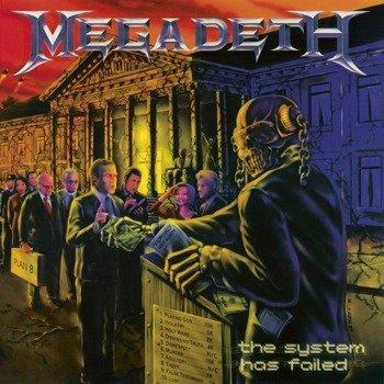 MEGADETH: THE SYSTEM HAS FAILED (LP VINYL)