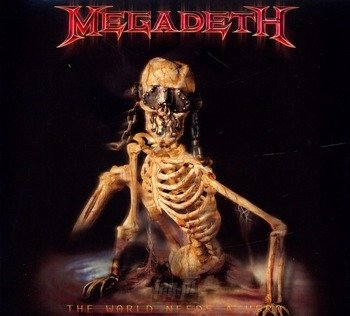 MEGADETH: THE WORLD NEEDS HERO (CD)