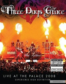 THREE DAYS GRACE: LIVE AT THE PALACE 2008 (DVD)