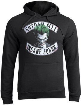 bluza THE JOKER - GOTHAM CITY INSANE JOKER, z kapturem