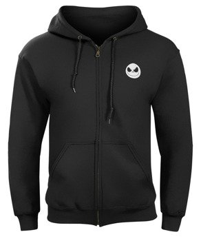 bluza THE NIGHTMARE BEFORE CHRISTMAS - JACK SKELLINGTON rozpinana, z kapturem