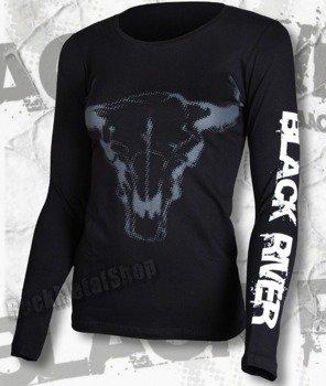 bluzka damska BLACK RIVER - BLACK'N'ROLL długi rękaw