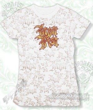 bluzka damska  IRON FIST - SKETCH  (WHITE)