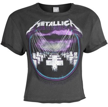 bluzka damska METALLICA -  MASTER OF PUPPETS, CROP TOP