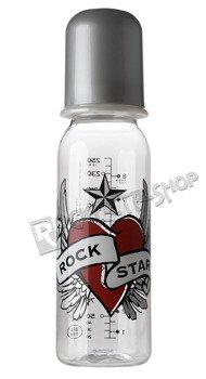 butelka ROCK STAR BABY - HEART WINGS