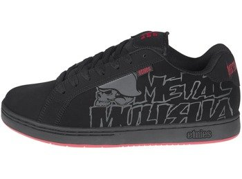 buty METAL MULISHA - ETNIES FADER BLACK BLACK RED