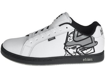 buty METAL MULISHA - ETNIES FADER WHITE BLACK GREY