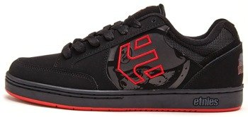 buty METAL MULISHA - SWIVEL BLACK BLACK RED