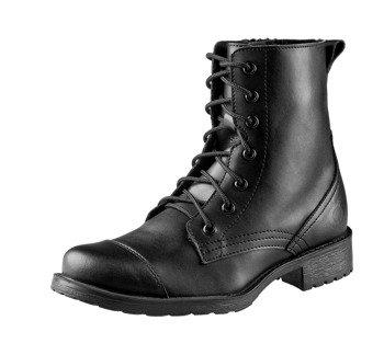 buty damskie ALTERCORE czarne 7-dziurkowe (VITAS VEGAN BLACK)