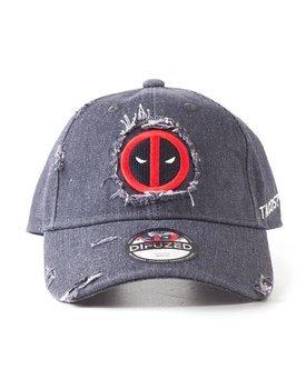 czapka DEADPOOL - RIPPED ADJUSTABLE CAP