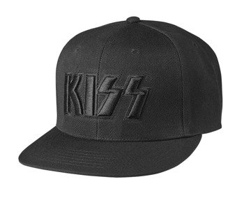 czapka KISS - NEON FACES BLACK