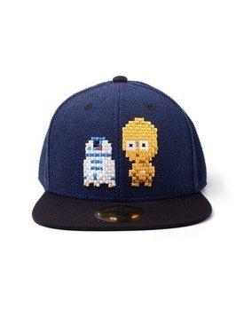 czapka STAR WARS - PIXEL C-3PO & R2-D2 SNAPBACK