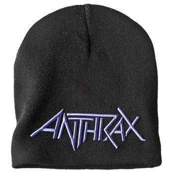 czapka zimowa ANTHRAX - LOGO