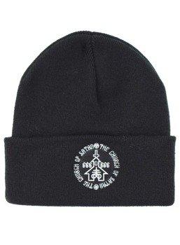 czapka zimowa DARKSIDE - CHURCH OF SATAN