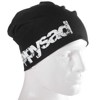 czapka zimowa HAPPYSAD - LOGO black