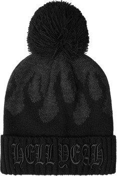 czapka zimowa KILL STAR - BLACK SOUL