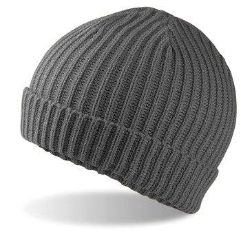 czapka zimowa SMOKE GREY
