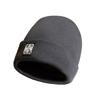 czapka zimowa WEST COAST CHOPPERS - PATCH BEANIE GREY