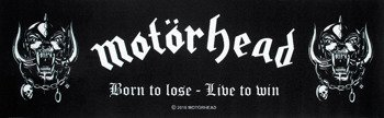 dywanik MOTORHEAD - BORN TO LOSE LIVE TO WIN