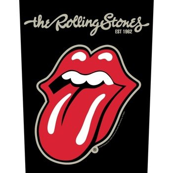 ekran THE ROLLING STONES - PLASTERED TONGUE