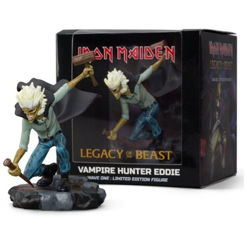 figurka IRON MAIDEN - VAMPIRE HUNTER EDDIE HALLOWEEN