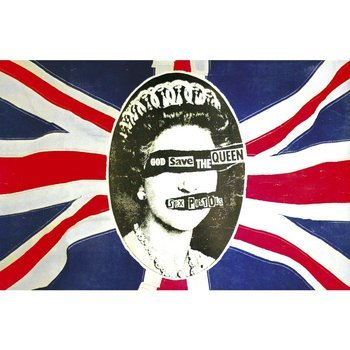 flaga SEX PISTOLS - GOD SAVE THE QUEEN