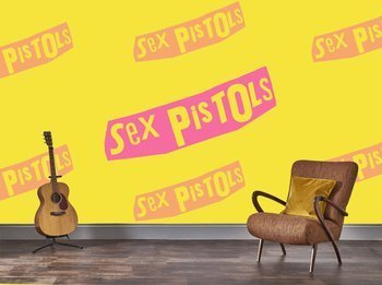 fototapeta SEX PISTOLS - LOGO