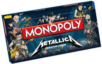 gra planszowa METALLICA - ROCK BAND MONOPOLY