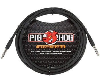 kabel audio PIG HOG PTRS10 / JACK prosty/prosty 6,3mm STEREO TRS / 3m