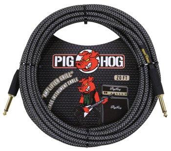 "kabel do gitary PIG HOG ""Amp Grill"" jack prosty 6m"