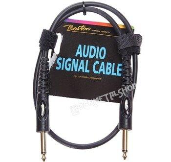 kabel instrumentalny BOSTON 0,30m jack prosty/prosty