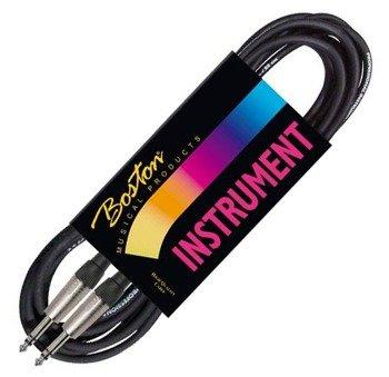 kabel instrumentalny BOSTON 9m JACK prosty/prosty 6,3mm STEREO