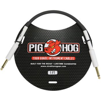 kabel instrumentalny PIG HOG PH1 jack prosty / 0,3m