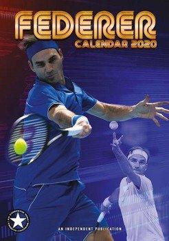 kalendarz ROGER FEDERER 2020